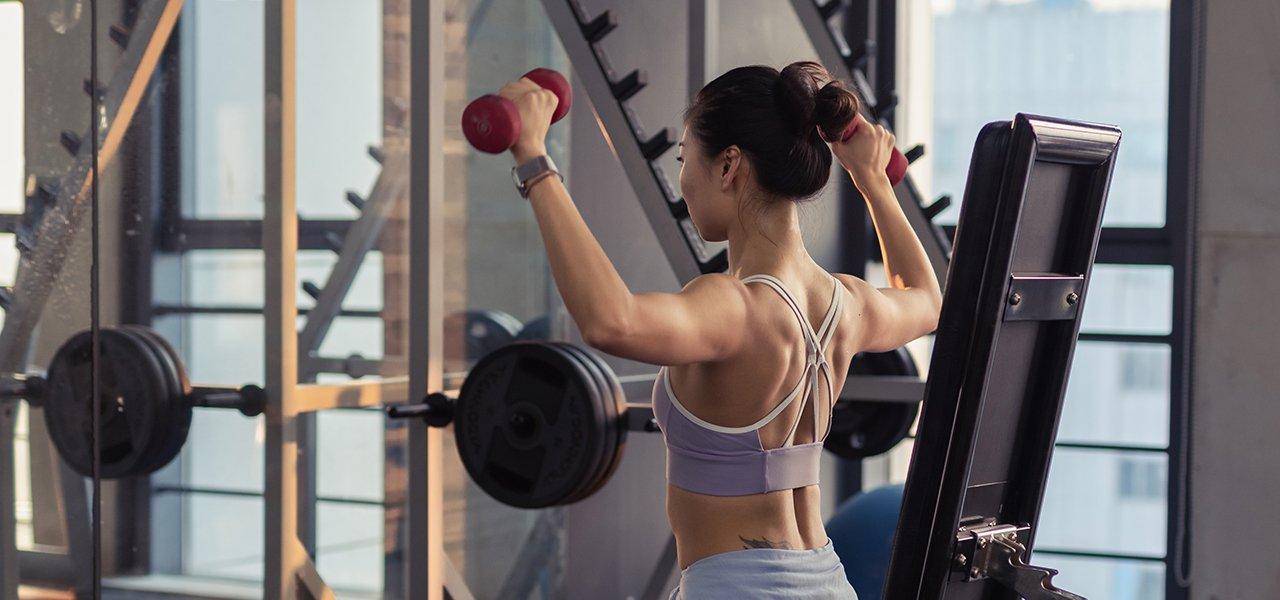 Onderontwikkelde spieren